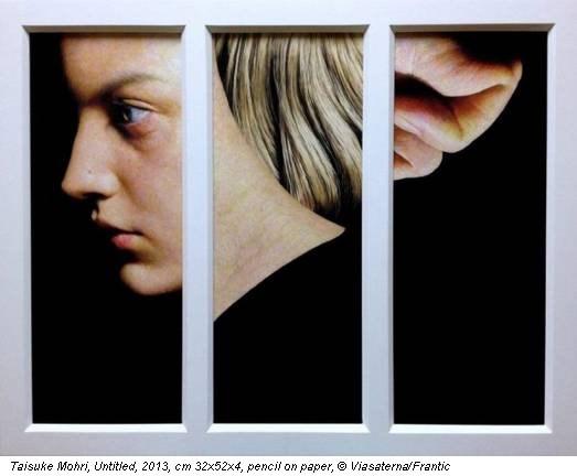Taisuke Mohri, Untitled, 2013, cm 32x52x4, pencil on paper, © Viasaterna/Frantic