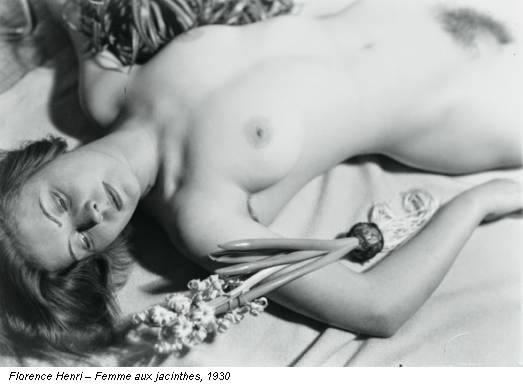 Florence Henri – Femme aux jacinthes, 1930