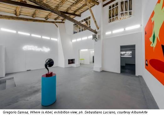 Gregorio Samsa, Where is Abel, exhibition view, ph. Sebastiano Luciano, courtesy AlbumArte