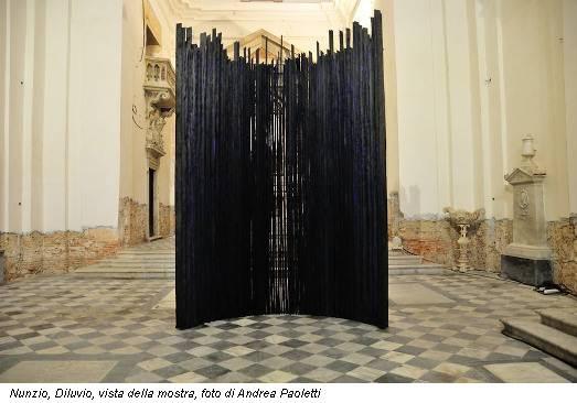 Nunzio, Diluvio, vista della mostra, foto di Andrea Paoletti