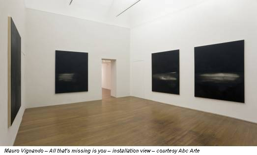 Mauro Vignando – All that's missing is you – installation view – courtesy Abc Arte
