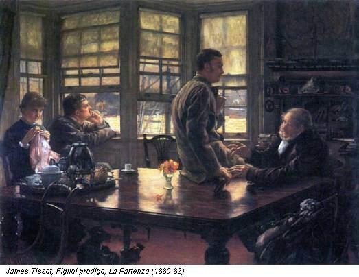 James Tissot, Figliol prodigo, La Partenza (1880-82)