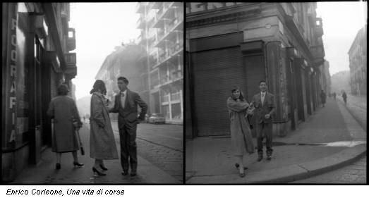 Enrico Corleone, Una vita di corsa