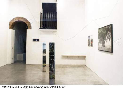 Patrizia Emma Scialpi, Ora Serrata, vista della mostra
