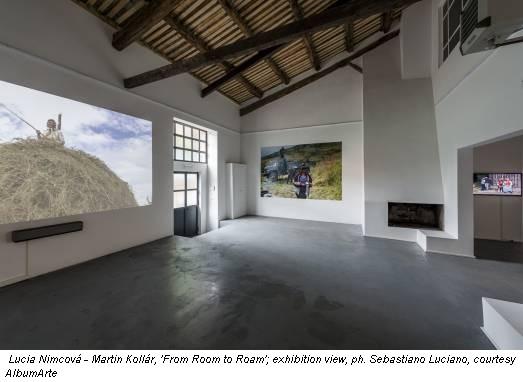 Lucia Nimcová - Martin Kollár, 'From Room to Roam'; exhibition view, ph. Sebastiano Luciano, courtesy AlbumArte