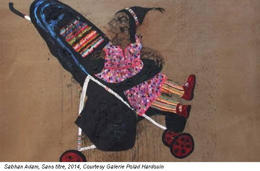 Sabhan Adam, Sans titre, 2014, Courtesy Galerie Polad Hardouin