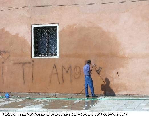Panta rei, Arsenale di Venezia, archivio Cantiere Corpo Luogo, foto di Penzo+Fiore, 2008