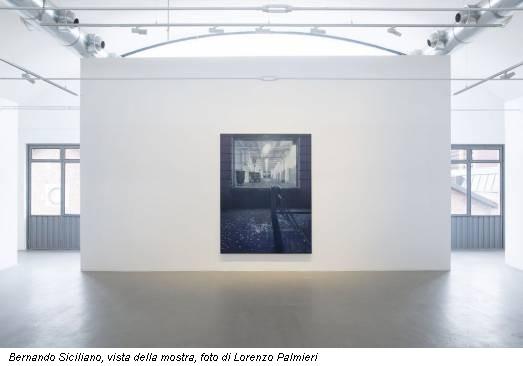 Bernando Siciliano, vista della mostra, foto di Lorenzo Palmieri
