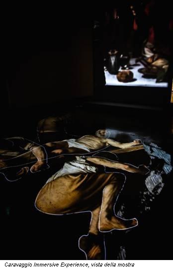 Caravaggio Immersive Experience, vista della mostra