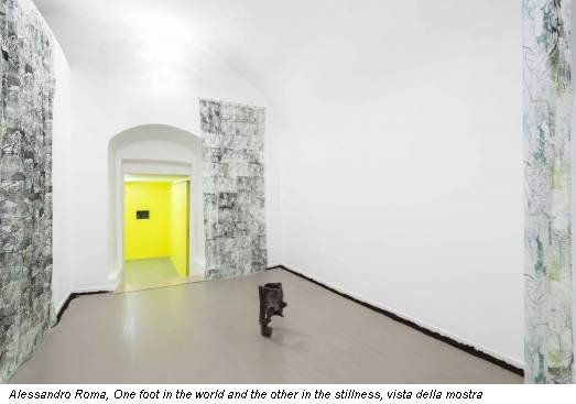 Alessandro Roma, One foot in the world and the other in the stillness, vista della mostra