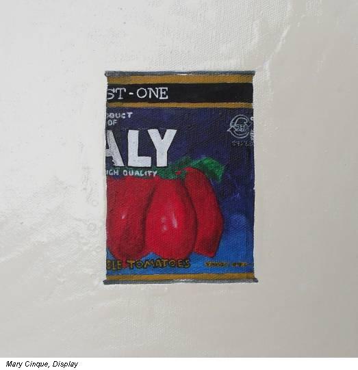 Mary Cinque, Display