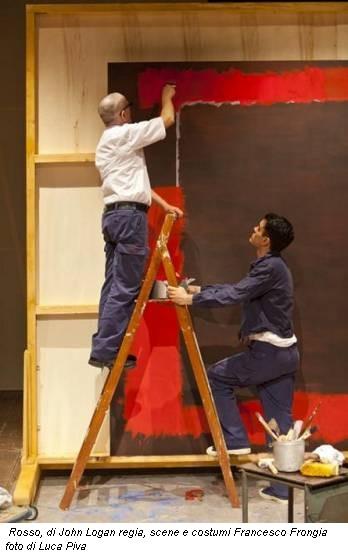 Rosso, di John Logan regia, scene e costumi Francesco Frongia foto di Luca Piva