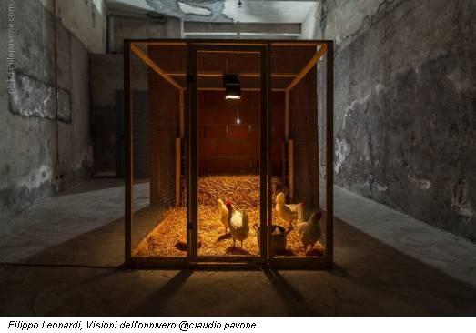 Filippo Leonardi, Visioni dell'onnivero @claudio pavone