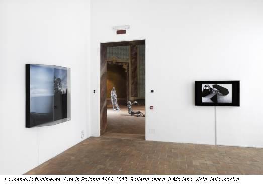 La memoria finalmente. Arte in Polonia 1989-2015 Galleria civica di Modena, vista della mostra