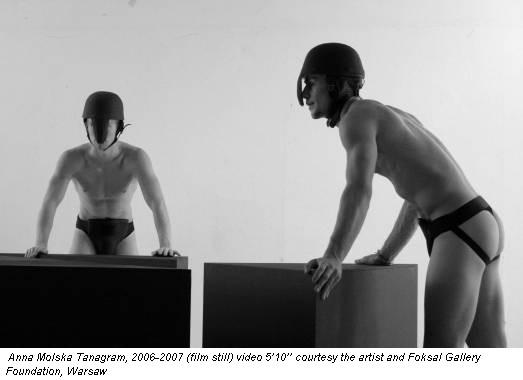 Anna Molska Tanagram, 2006-2007 (film still) video 5'10'' courtesy the artist and Foksal Gallery Foundation, Warsaw