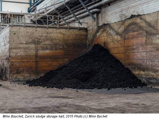 Mike Bouchet, Zurich sludge storage hall, 2015 Photo (c) Mike Buchet
