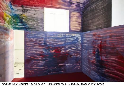 Roberto Coda Zabetta – #Filmbox01 – installation view – courtesy Museo di Villa Croce