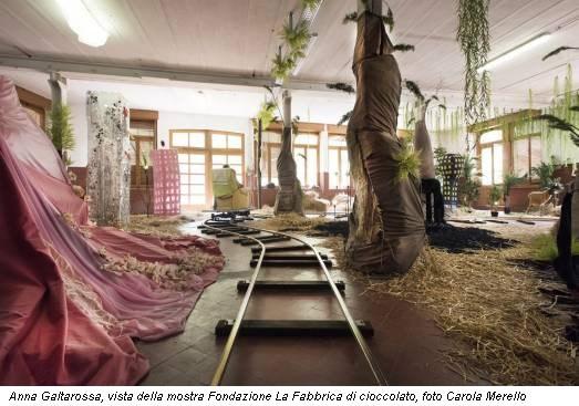 Anna Galtarossa, vista della mostra Fondazione La Fabbrica di cioccolato, foto Carola Merello