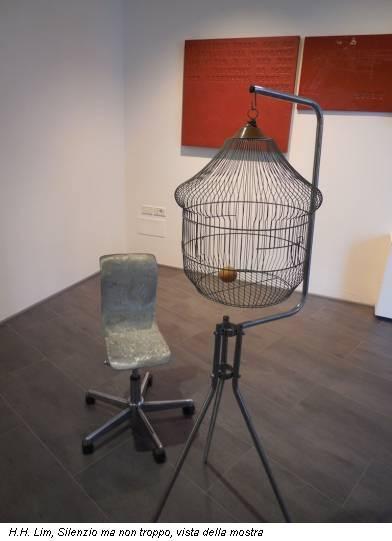H.H. Lim, Silenzio ma non troppo, vista della mostra