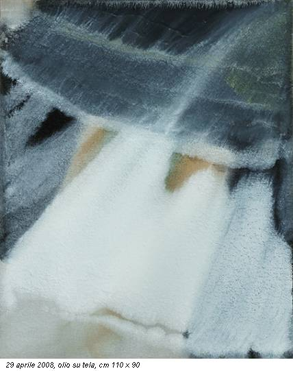 29 aprile 2008, olio su tela, cm 110 x 90