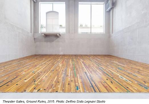Theaster Gates, Ground Rules, 2015. Photo: Delfino Sisto Legnani Studio
