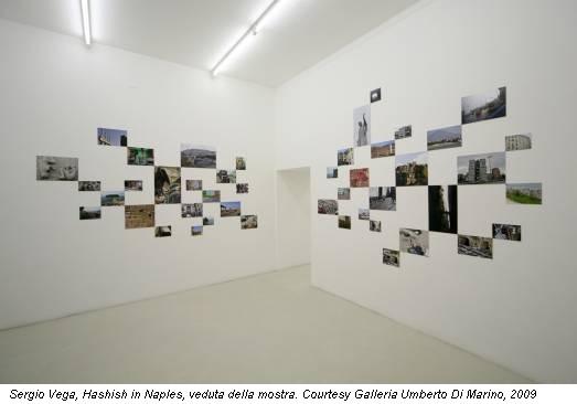 Sergio Vega, Hashish in Naples, veduta della mostra. Courtesy Galleria Umberto Di Marino, 2009