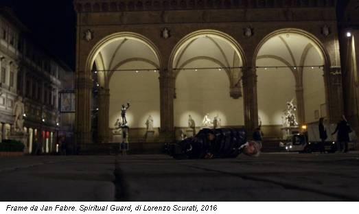 Frame da Jan Fabre. Spiritual Guard, di Lorenzo Scurati, 2016