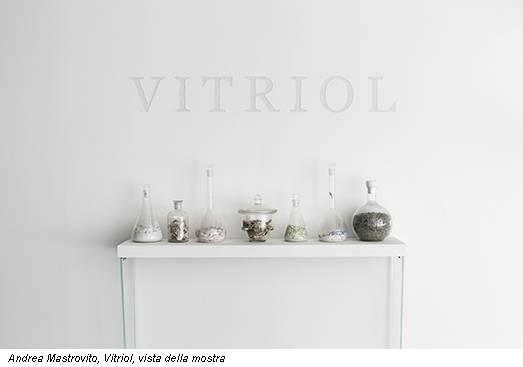 Andrea Mastrovito, Vitriol, vista della mostra