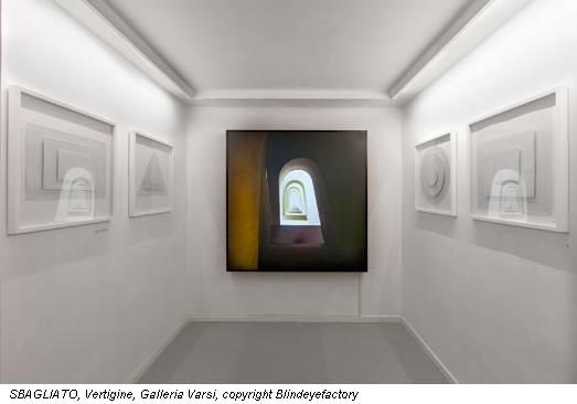 SBAGLIATO, Vertigine, Galleria Varsi, copyright Blindeyefactory
