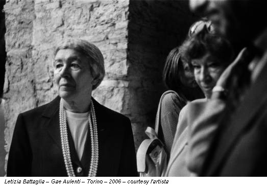 Letizia Battaglia – Gae Aulenti – Torino – 2006 – courtesy l'artista