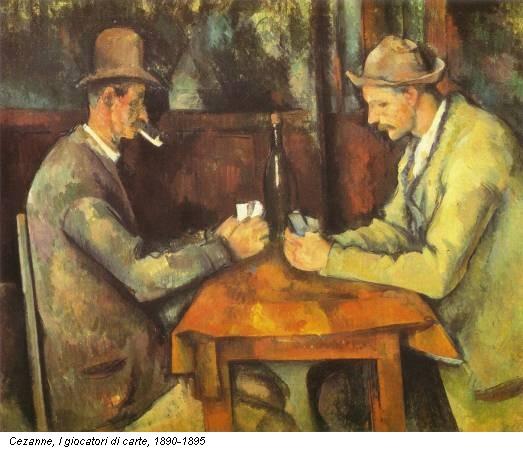 Cezanne, I giocatori di carte, 1890-1895
