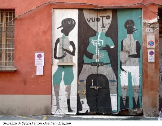 Un pezzo di Cyop&Kaf nei Quartieri Spagnoli