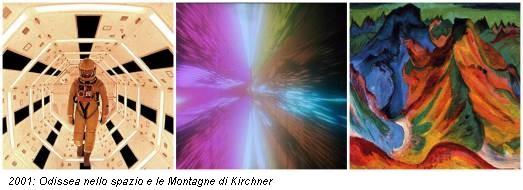 2001: Odissea nello spazio e le Montagne di Kirchner
