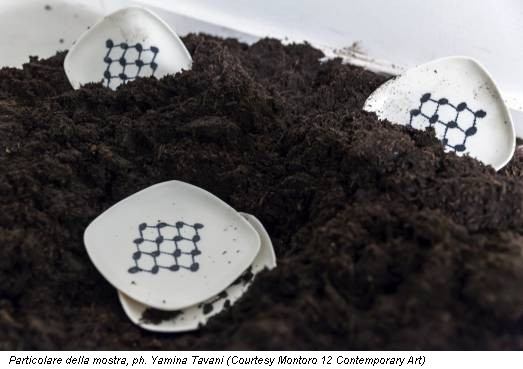 Particolare della mostra, ph. Yamina Tavani (Courtesy Montoro 12 Contemporary Art)