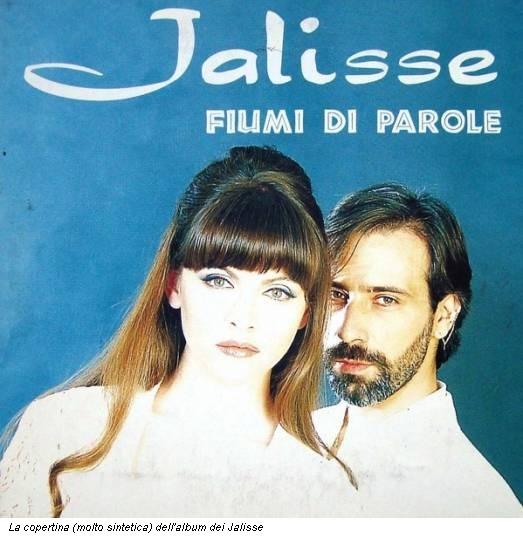La copertina (molto sintetica) dell'album dei Jalisse