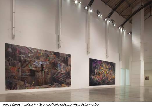 Jonas Burgert. Lotsucht / Scandagliodipendenza, vista della mostra