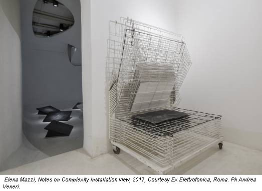 Elena Mazzi, Notes on Complexity installation view, 2017, Courtesy Ex Elettrofonica, Roma. Ph Andrea Veneri.
