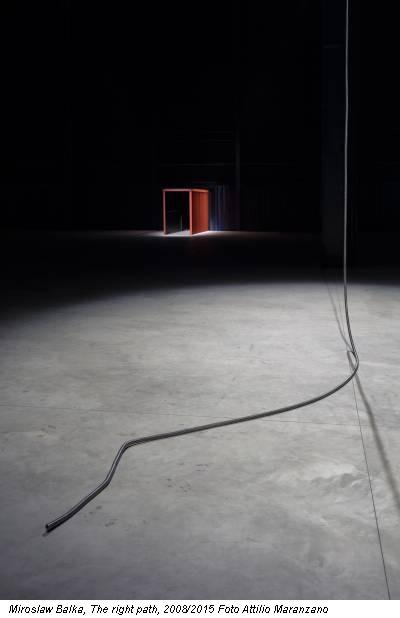 Miroslaw Balka, The right path, 2008/2015 Foto Attilio Maranzano