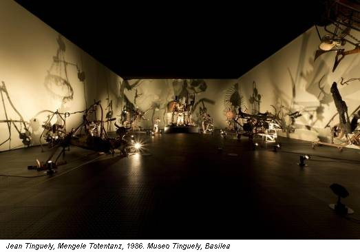 Jean Tinguely, Mengele Totentanz, 1986. Museo Tinguely, Basilea