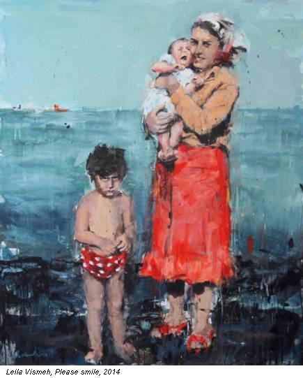 Leila Vismeh, Please smile, 2014