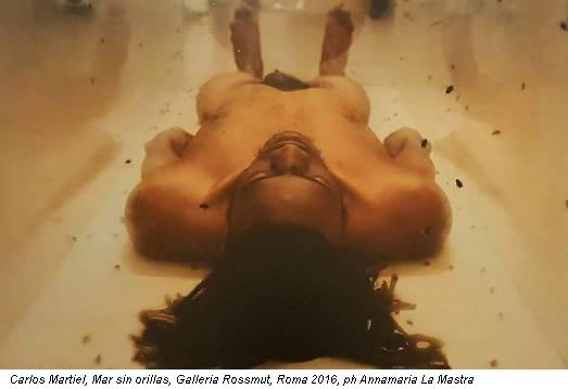 Carlos Martiel, Mar sin orillas, Galleria Rossmut, Roma 2016, ph Annamaria La Mastra