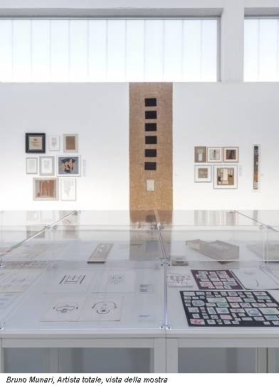 Bruno Munari, Artista totale, vista della mostra