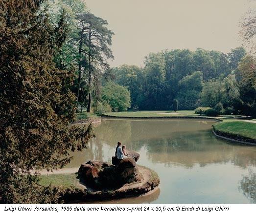 Luigi Ghirri Versailles, 1985 dalla serie Versailles c-print 24 x 30,5 cm © Eredi di Luigi Ghirri