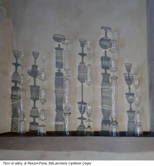 Torri di vetro, di Penzo+Fiore, foto archivio Cantiere Corpo