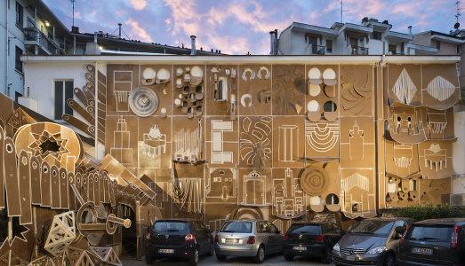 Fino al 31.X.2015 | Daniel Gonzalez, Pop-Up Building Milan | Marsèlleria, Milano