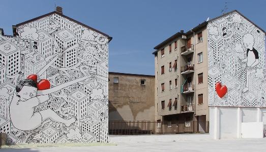 La rigenerazione urbana è anche street art