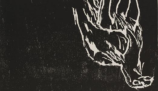 Fino al 12.XI.2017   Baselitz. Sottosopra – Xilografie dal Cabinet d'Arts Graphiques di Ginevra   Palazzo dei Pio, Carpi