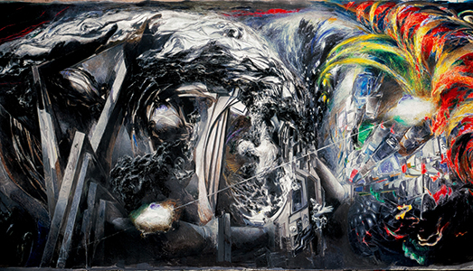 Fino al 27.I.2019 | Ennio Calabria, Verso il Tempo dell'essere. Opere 1958-2018 | Museo Di Palazzo Cipolla, Roma