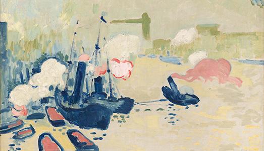 Fino al 29.I.2018 | André Derain 1904 – 1914. Il decennio radicale | Centre Pompidou, Parigi