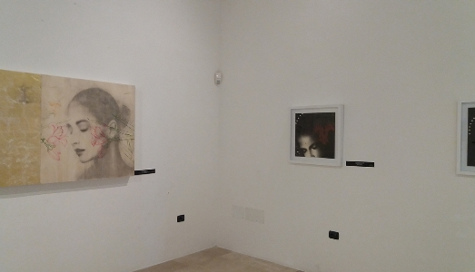 Fino al 31.V.2019 | Omar Galliani, Sguardi – La seduzione del Disegno Italiano | Museo Diocesano San Matteo, Salerno